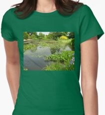 The Lily Pond - A Study in Green Womens Fitted T-Shirt
