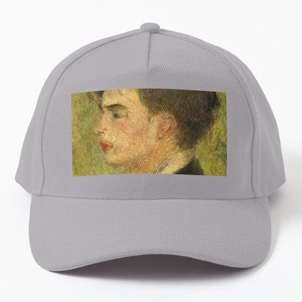 Georges Rivière Oil Painting by Auguste Renoir Baseball Cap