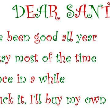 dear santa by brontz