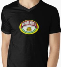 Marmite colour Men's V-Neck T-Shirt