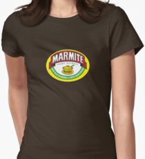 Marmite colour Womens Fitted T-Shirt