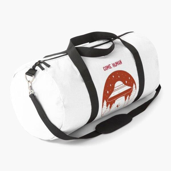 Come Human, Let's Get High Aliens Duffle Bag