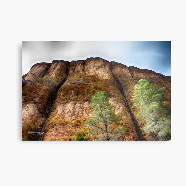 Pinnacles National Park wall - fall 2016 Metal Print