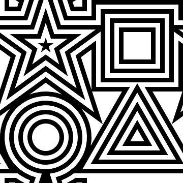 4Symbols in black by AnnoNiem