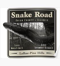 Snake Road Poster