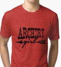 Archery Girl Tri-blend T-Shirt