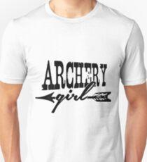 Archery Girl Unisex T-Shirt