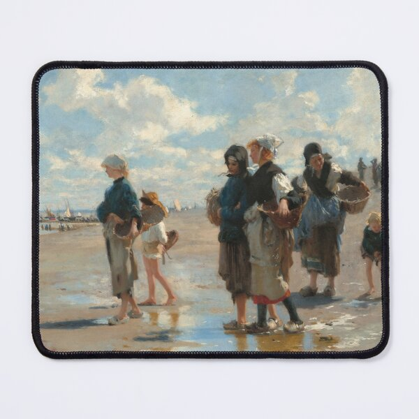 Setting Out to Fish Oil Painting by John Singer Sargent Mouse Pad