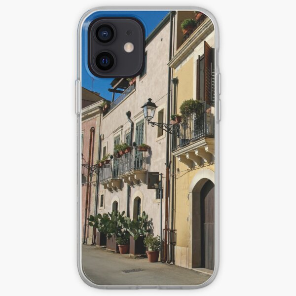 Colorful Italian Street iPhone Soft Case
