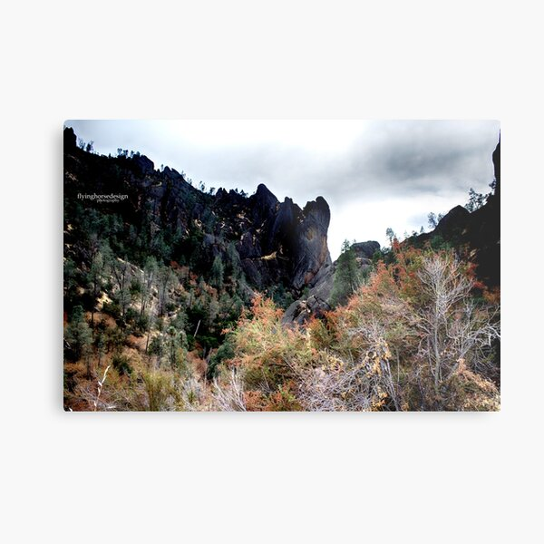 Pinnacles National Park very colorful - fall 2016 Metal Print
