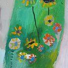 Mini Green Terrarium by Brooke Wandall