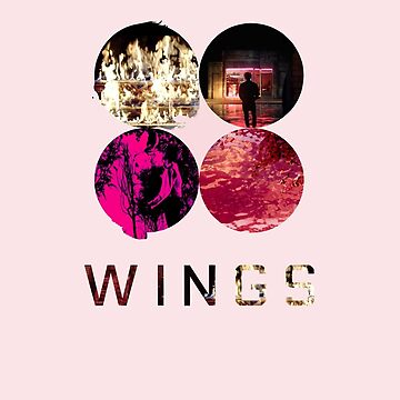 BTS Wings ~ Pink Version by slickchicken