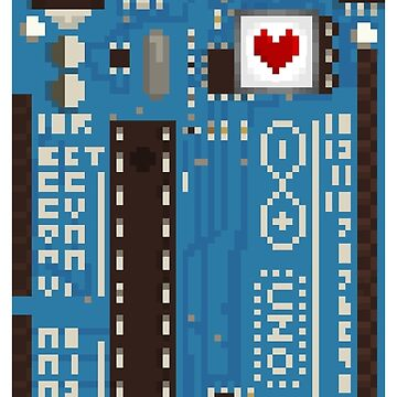 Arduino Heart Pixel by Tiagodvl