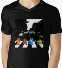 Nintendo Sprites on Abbey Road T-Shirt
