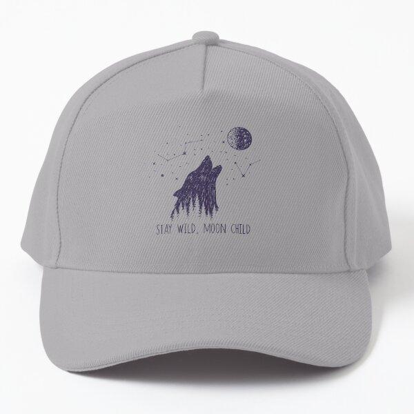 Stay Wild, Moon Child Baseball Cap