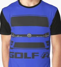 MK7 VW Golf R Front View Graphic T-Shirt