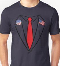 Donald Trump Suit and Tie Halloween Costume Unisex T-Shirt
