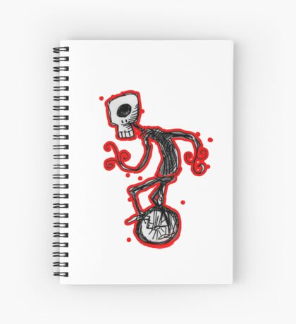 cyclops on a unicycle Spiral Notebook