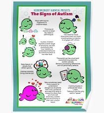 Signs of Autism Poster Poster