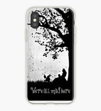 """We're All Mad Here"" iPhone Case"