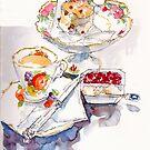 Devonshire Tea by Carol Lee Beckx