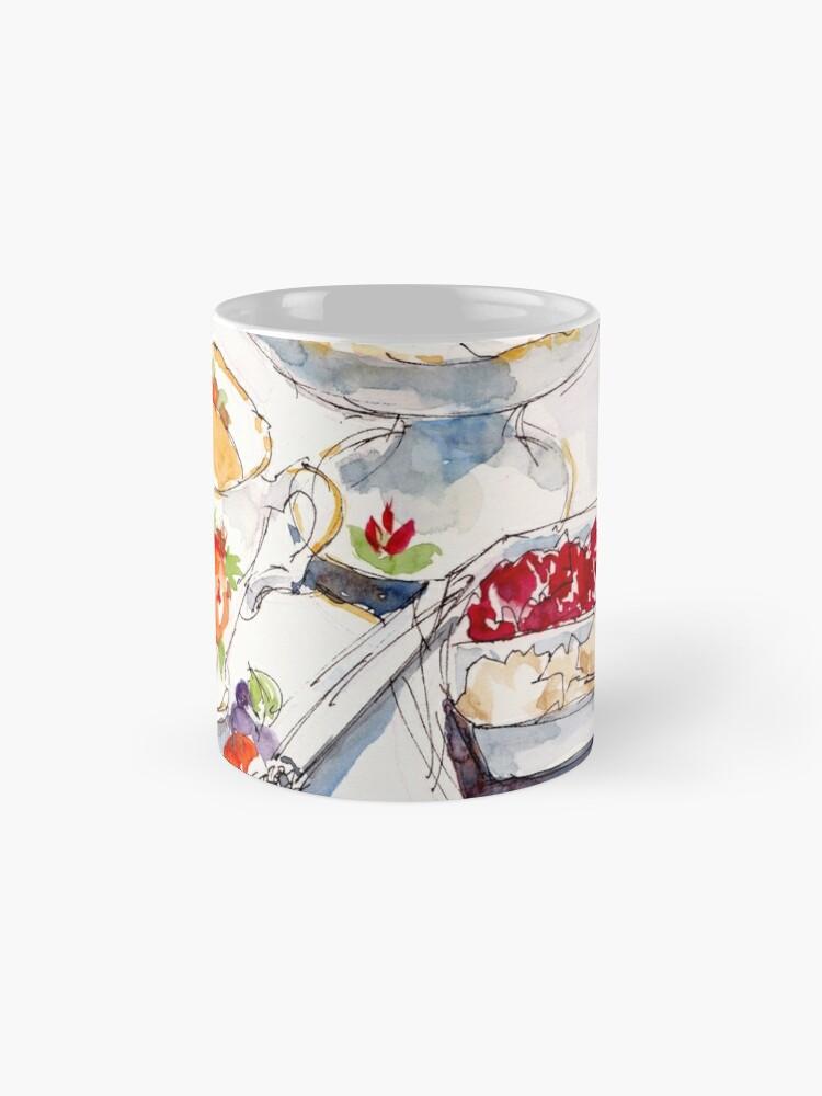 Alternate view of Devonshire Tea Mug