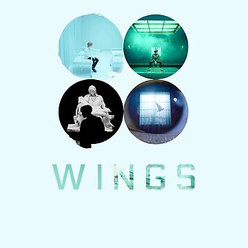 BTS Wings ~ Blue Version by slickchicken