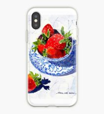 Three Strawberries iPhone Case