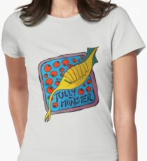 Tully Monster Illinois State Fossil Women's Fitted T-Shirt