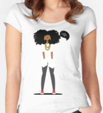 Tasha Women's Fitted Scoop T-Shirt