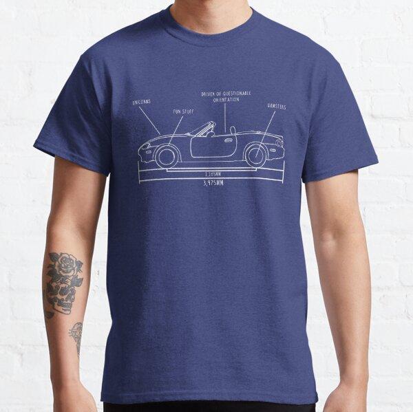 Plan du NB Miata T-shirt classique