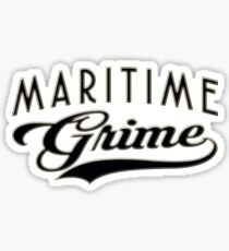 Maritime Grime Sticker