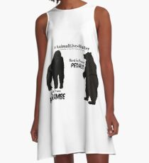 Harambe & Pedals A-Line Dress