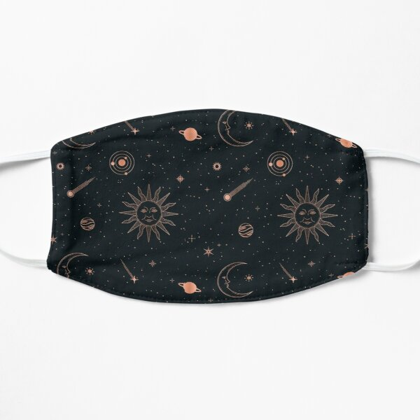 Black Universe Flat Mask