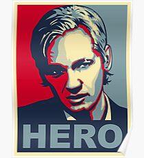 julian assange Poster
