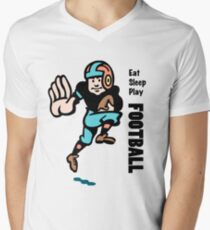 Football Men's V-Neck T-Shirt