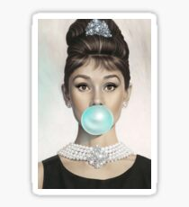 Audrey Hepburn Sticker