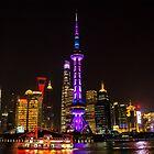 Shanghai at Night by mcsolomon74