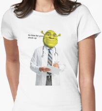 Shrek Check up meme Women's Fitted T-Shirt