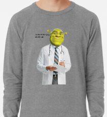 Shrek Prüfe Meme Leichtes Sweatshirt
