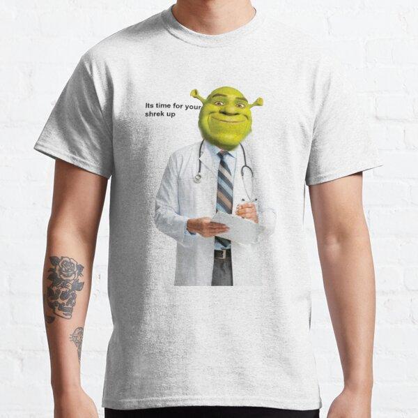 Shrek Comprueba el meme Camiseta clásica