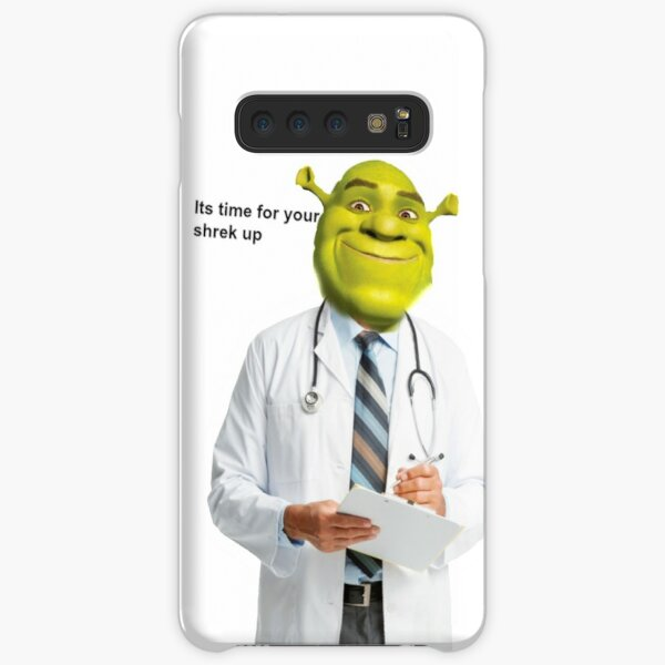 Shrek Check up meme Samsung Galaxy Snap Case
