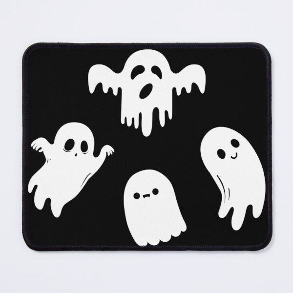 Four Cute Ghost  Mouse Pad