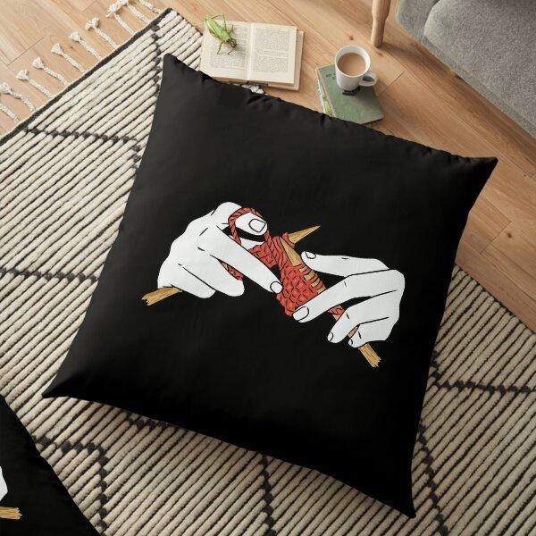 knitting Floor Pillow