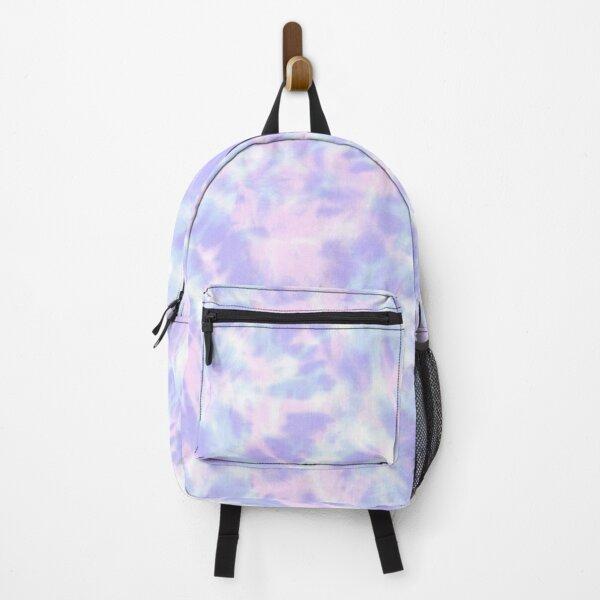 Purple Tie Dye Pattern Backpack