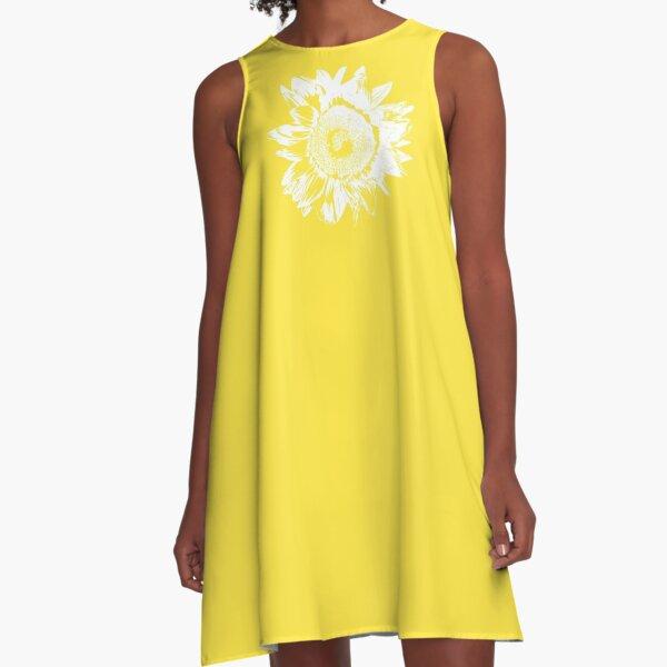 Sunflower - White - A-Line Dress