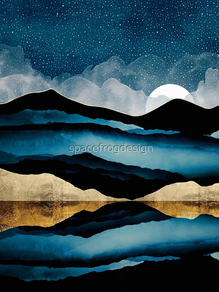 Midnight Mountain by spacefrogdesign