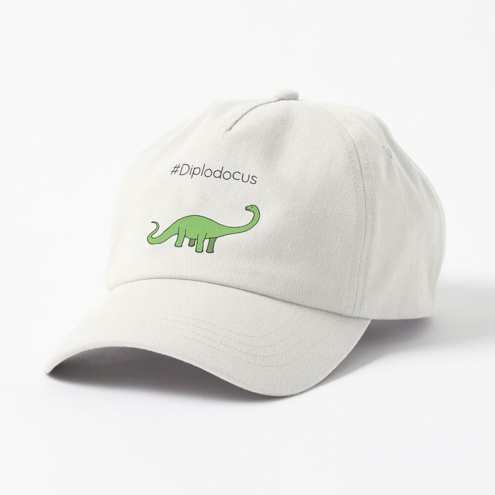 #Diplodocus - dinosaur design by Cecca Designs Cap