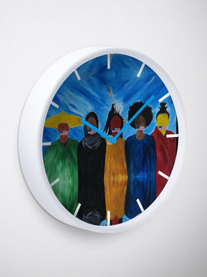Alternate view of We The People - 1 Clock