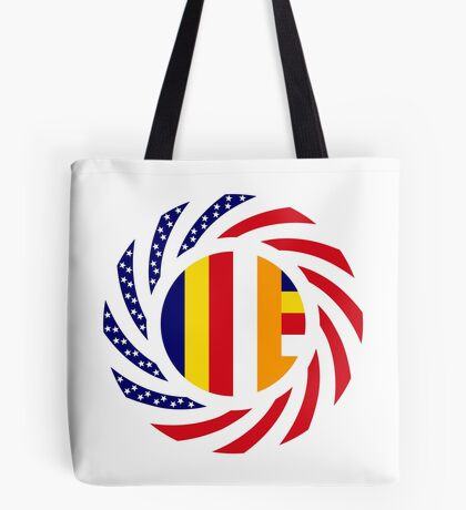Buddhist Murican Patriot Flag Series Tote Bag